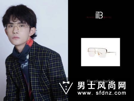 2019双十一晚会易烊千玺眼镜是什么牌子多少钱?