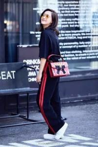 极限挑战王珞丹运动裤是什么牌子 初秋运动裤搭配