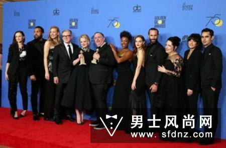 最美丽的抗议宣言 2018金球奖红毯上女星们的黑色礼服