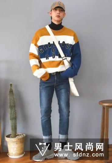 这样穿毛衣男人太帅了